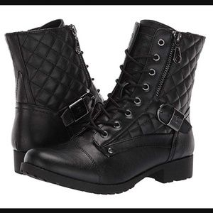 G by Guess Moto Boot